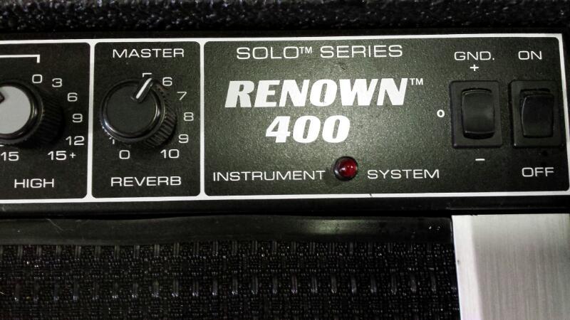 PEAVEY Electric Guitar Amp RENOWN 400