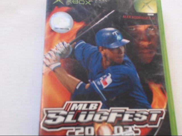 XBOX - MLB SLUGFEST 2003