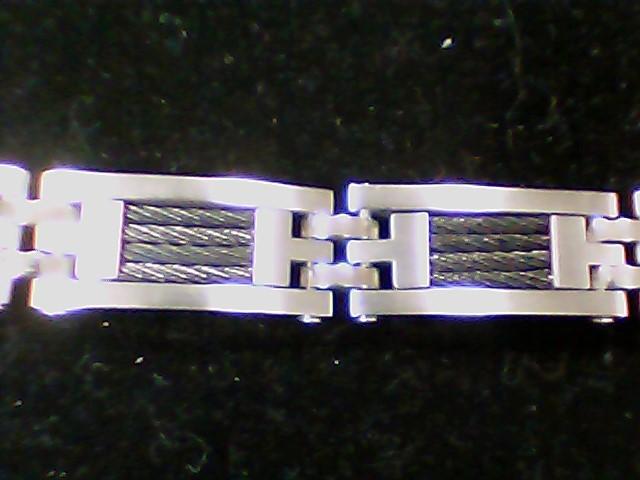 Bracelet Silver Stainless 76g
