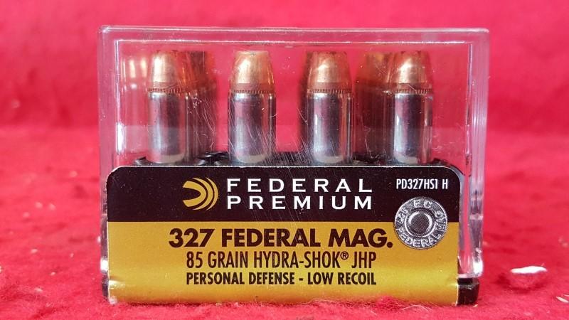 Federal Premium PD327HS1 327 Federal - 85gr Hydra-Shok JHP