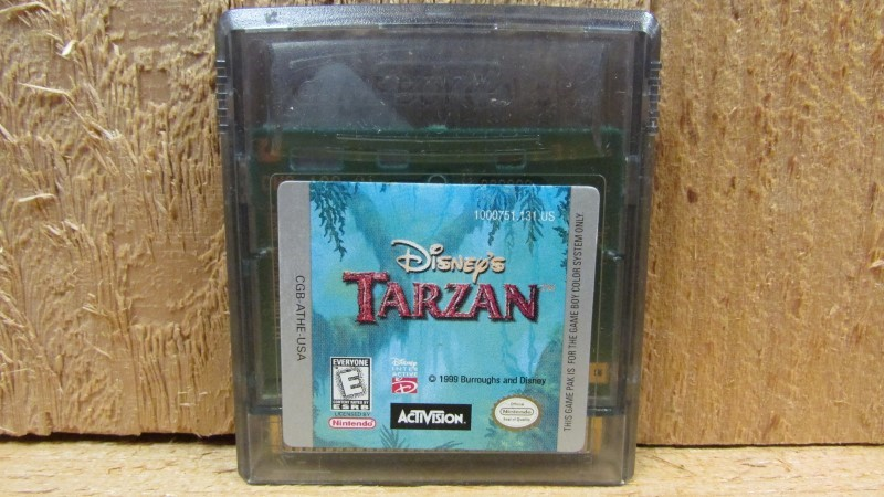 NINTENDO Vintage Game DISNEY'S TARZAN (GAMEBOY COLOR)