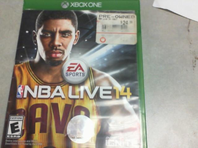 MICROSOFT Microsoft XBOX One Game NBA LIVE 14 - XBOX ONE