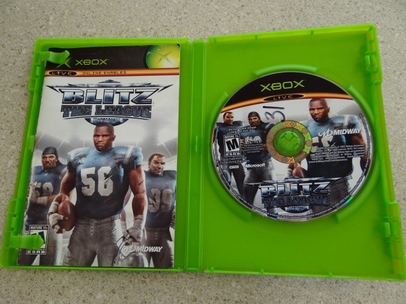 Blitz: The League (Microsoft Xbox, 2005)