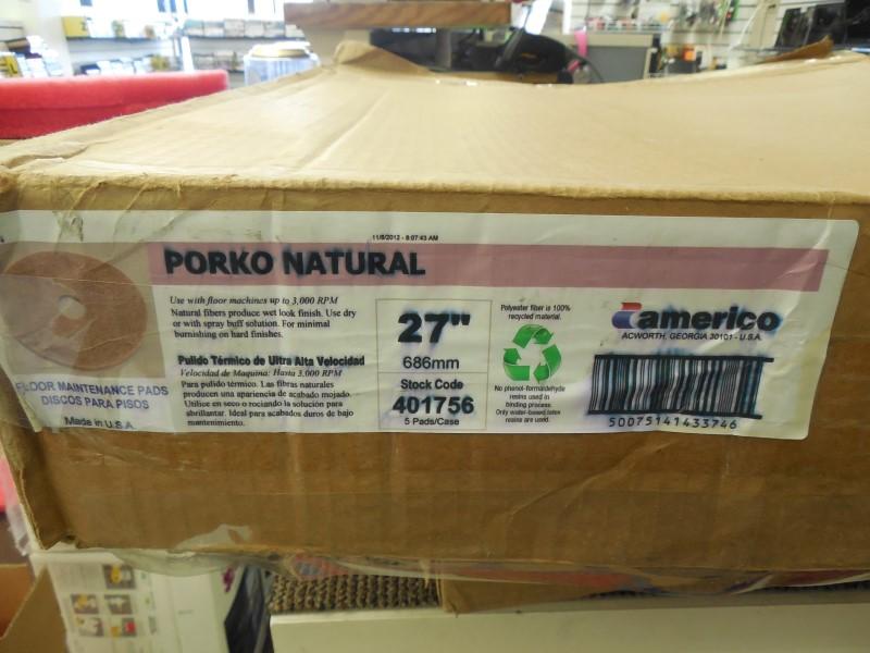 AMERICO PORKO NATURAL PADS