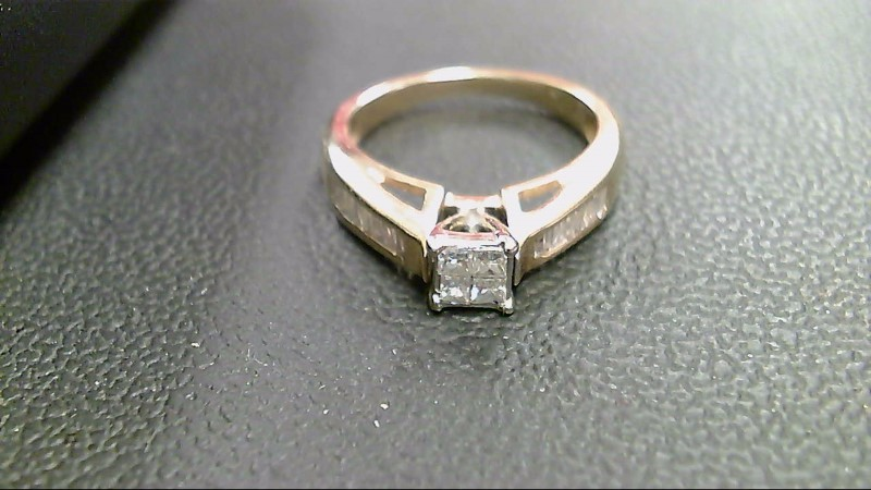 Lady's Diamond Wedding Band 20 Diamonds .88 Carat T.W. 14K Yellow Gold 4.3g