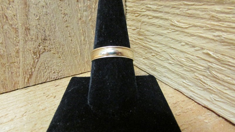 Gent's Gold Ring 14K Yellow Gold 2.7g Size:11