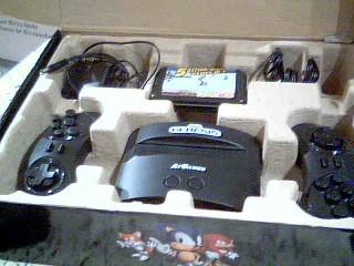 SEGA Sega Genesis GENESIS CLASSIC GAME CONSOLE