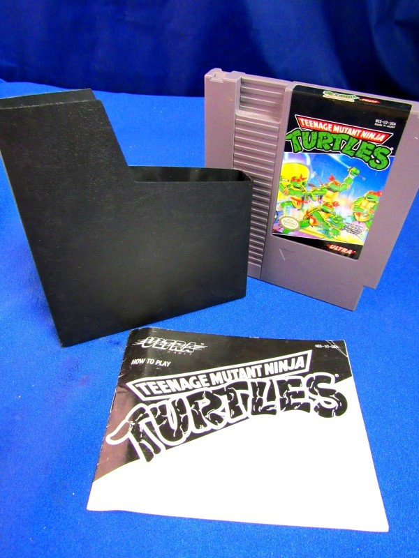 NES: TEENAGE MUTANT NINJA TURTLES