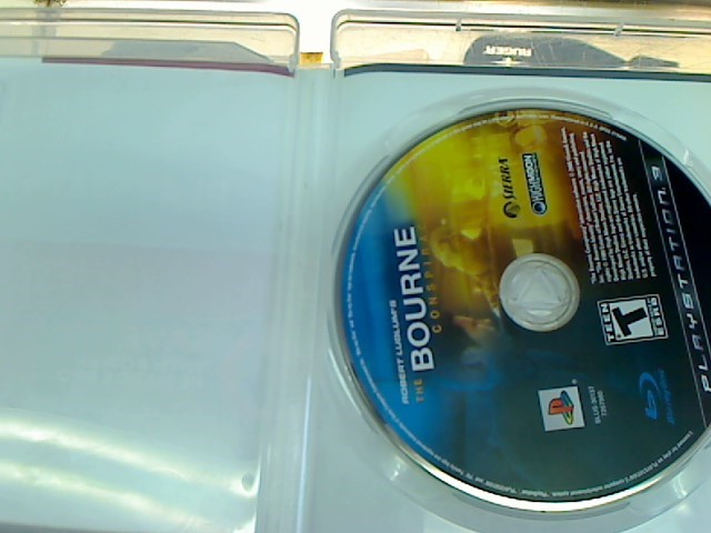 PS3 - THE BOURNE CONSPIRACY