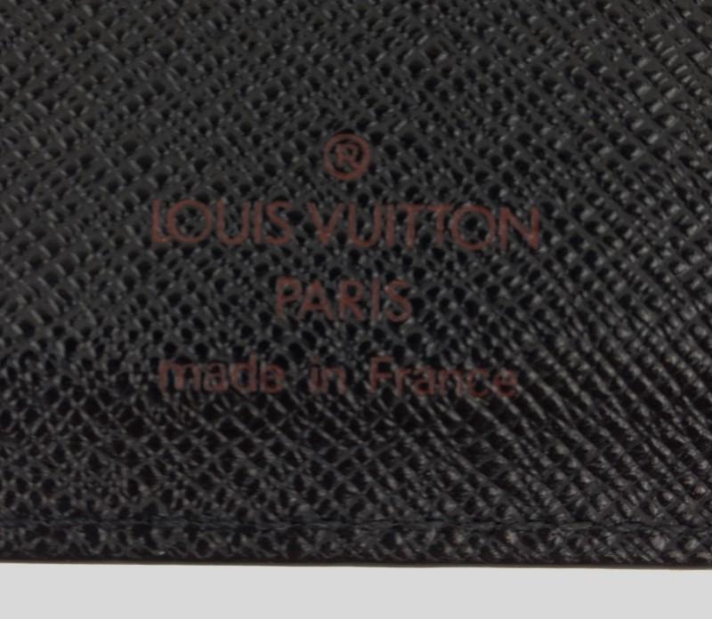 LOUIS VUITTON BLACK EPI AGENDA
