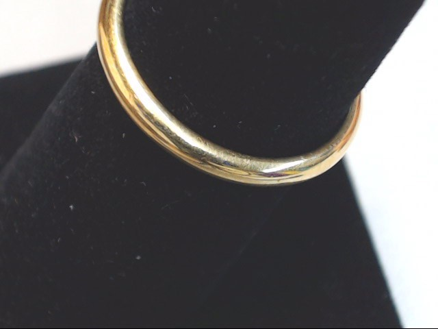 Lady's Gold Wedding Band 14K Yellow Gold 2.4g Size:7