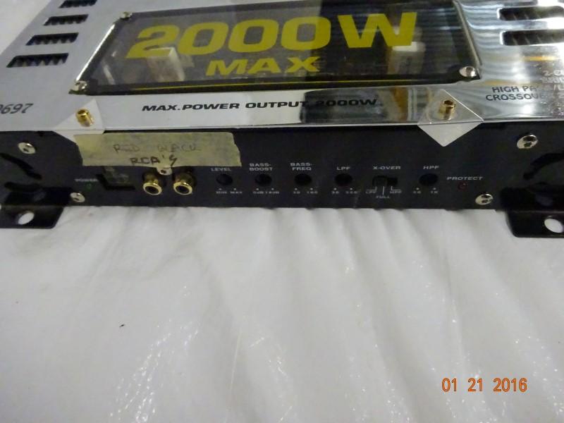 KOIILER Car Amplifier XM-9697