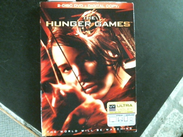 DVD MOVIE DVD THE HUNGER GAMES