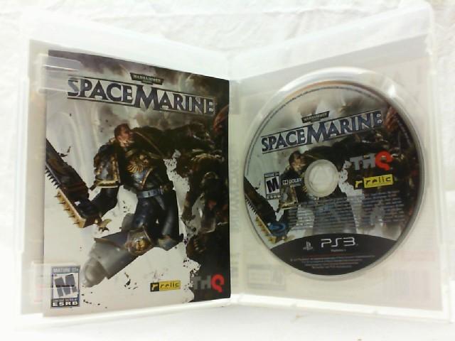 SONY Sony PlayStation 3 Game WARHAMMER SPACE MARINE