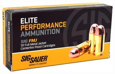 SIG SAUER Ammunition 40SW AMMUNITION 180GR FMJ