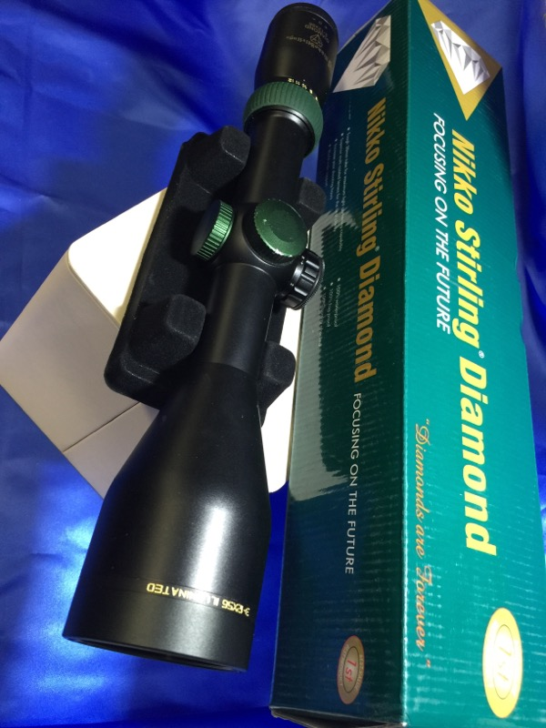 NIKKO STIRLING Scope DIAMOND 3-12X56
