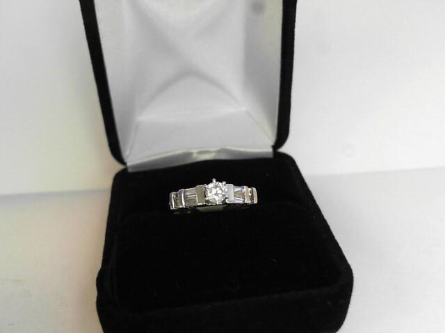 Lady's Diamond Engagement Ring .24 CT. 14K Yellow Gold 2.16dwt