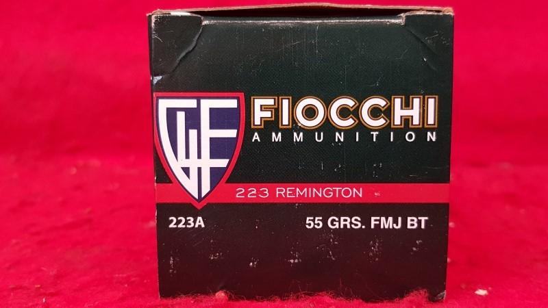 FIOCCHI AMMUNITION Ammunition 223 REM 55GR FMJ