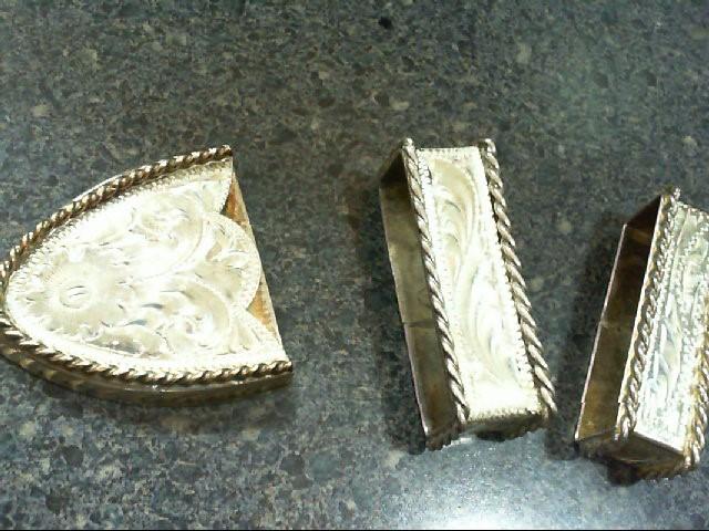 Silver Belt Buckle 925 Silver 120.8g