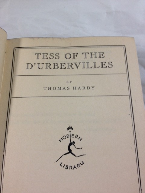 THOMAS HARDY TESS OF THE D'URBERVILLE