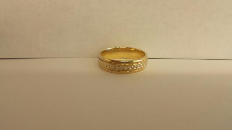 Gent's Gold Ring 10K Yellow Gold 3.3dwt Size:9.5