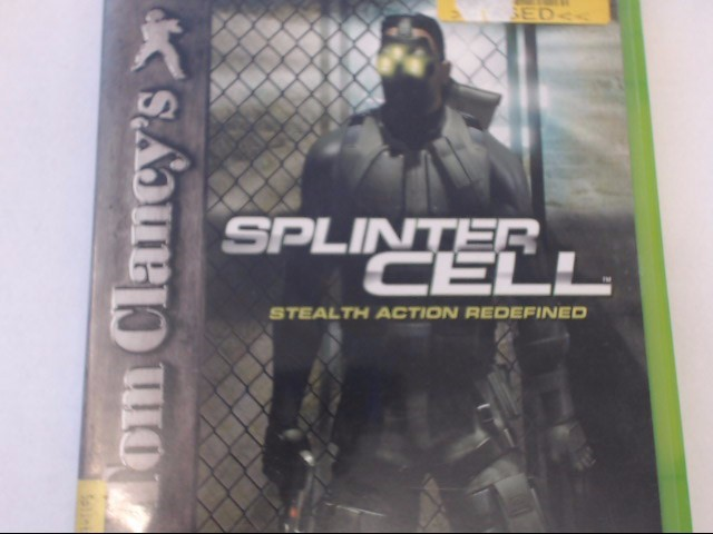 XBOX - SPLINTER CELL