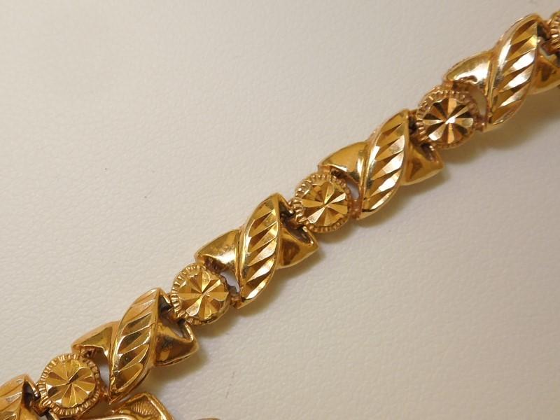Gold Fashion Chain 18K Yellow Gold 15.3g