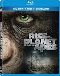 Rise Of The Planet Of The Apes Blu-ray , Dvd & Digital copy