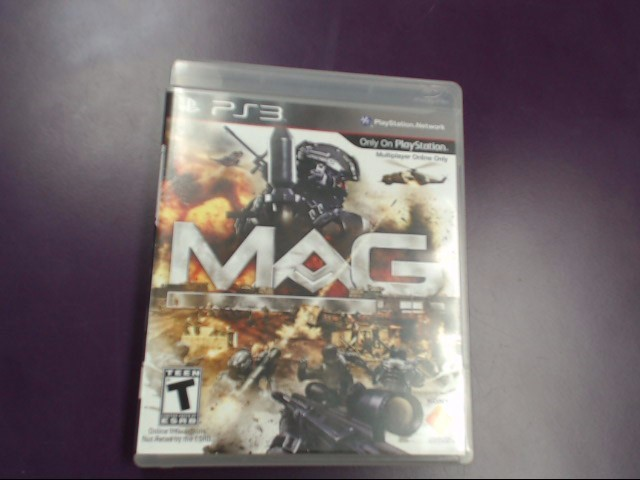 SONY PLAYSTATION 3 GAME MAG PS3