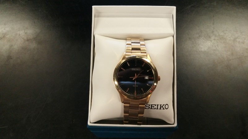 SEIKO Gent's Wristwatch 4T57-00E0