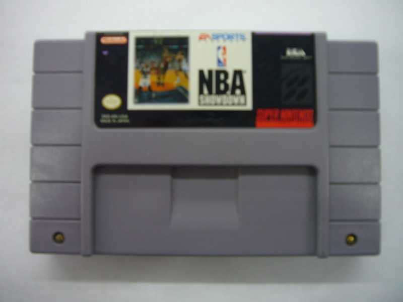 NINTENDO SNES Game NBA SHOWDOWN *CARTRIDGE ONLY*