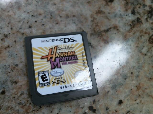 NINTENDO Nintendo DS Game HANNAH MONTANA THE MOVIE DS