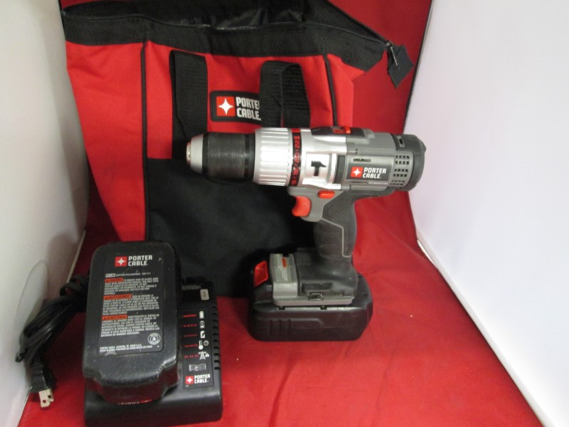 PORTER CABLE Cordless Drill PC1800CHD