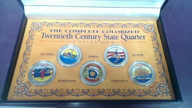 1999 PAINTED QUARTER SET