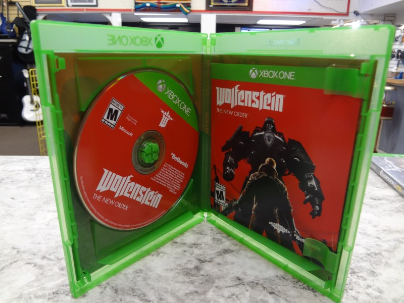 WOLFENSTEIN THE NEW ORDER XBOX ONE