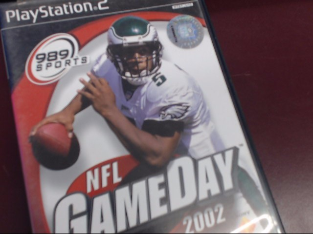 SONY PS2 NFL GAME DAY 2002