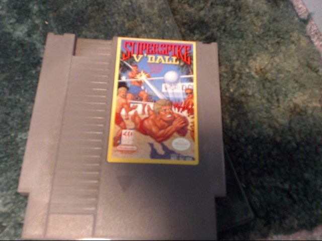 NINTENDO Nintendo NES Game SUPERSPIKE V BALL NES