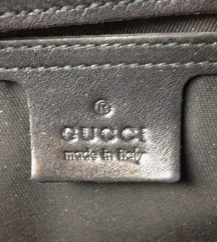 GUCCI METALLIC BOSTON BAG 193603