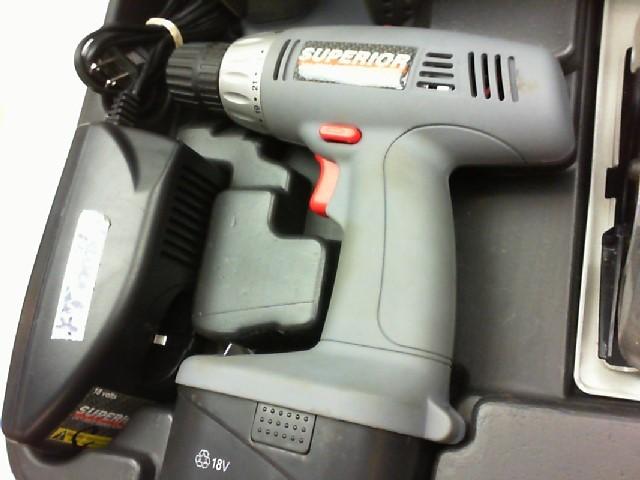 SUPERIOR TOOL Cordless Drill 241-9908