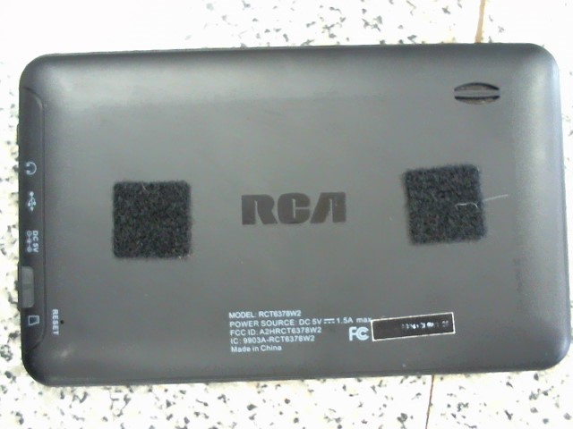 RCA Tablet RCT6378W2 TABLET