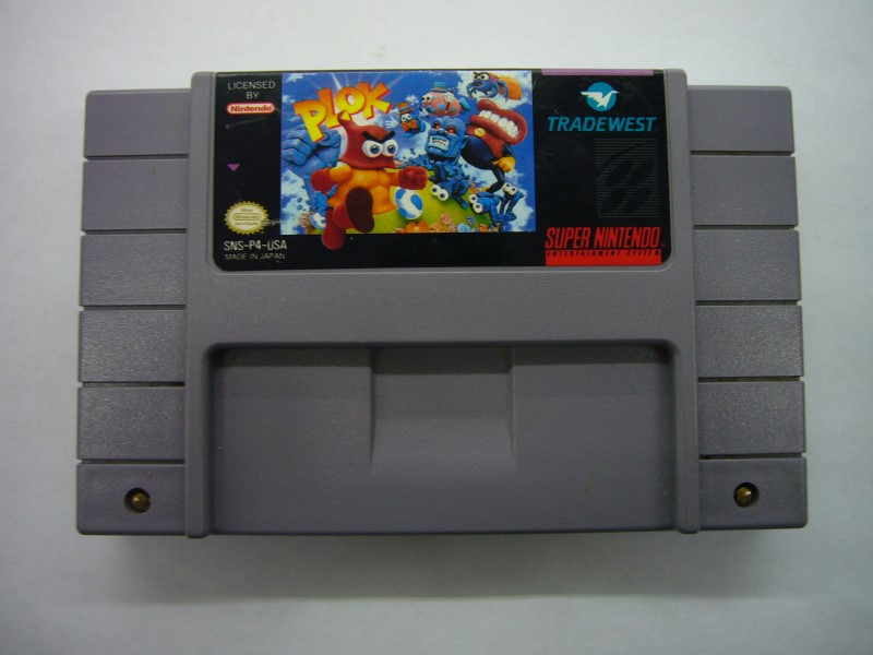 "SNES PLOK ""GAME ONLY"""
