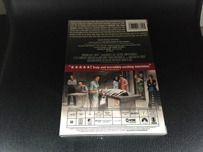 DVD BOX SET DVD DEXTER SEASON 3