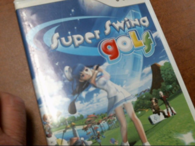 NINTENDO Nintendo Wii Game SUPER SWING GOLF