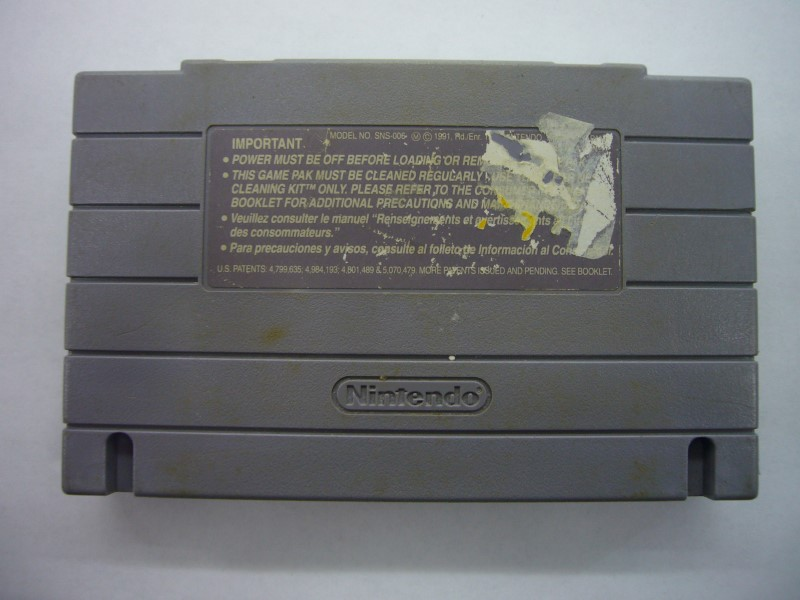 NINTENDO SNES Game BUSTER BUSTS LOOSE *CARTRIDGE ONLY*