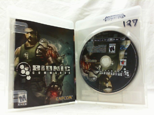 SONY Sony PlayStation 3 Game BIONIC COMMANDO