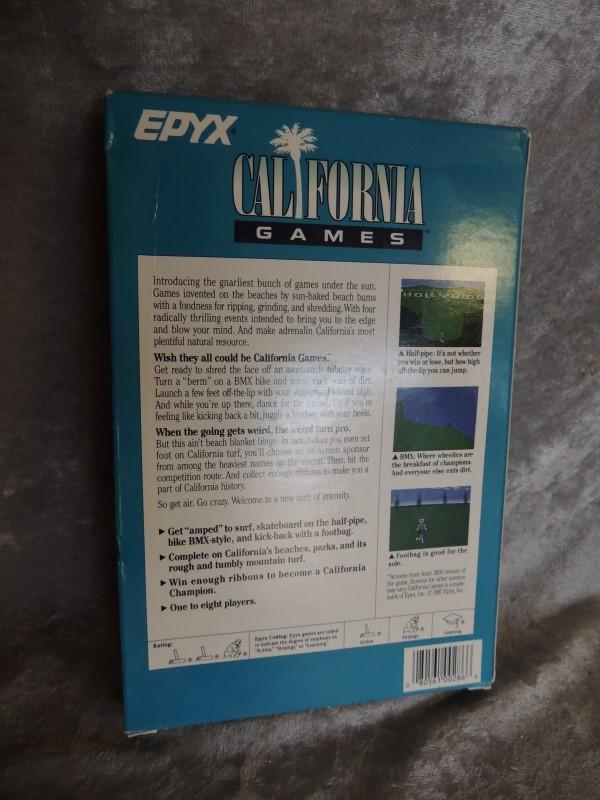 ATARI EPYX CALI GAMES Vintage Game GAMES