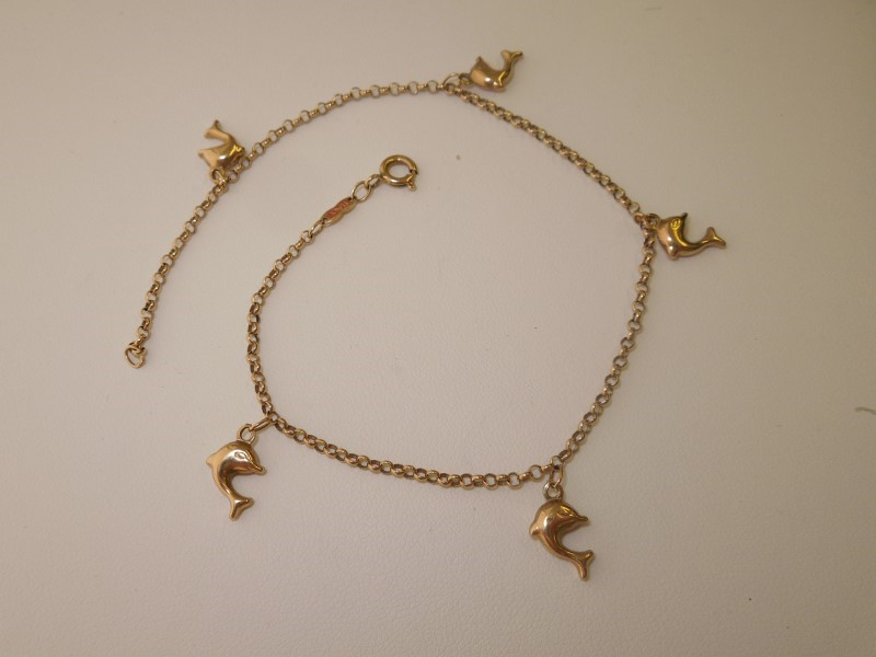 Gold Bracelet 14K Yellow Gold 3.8g