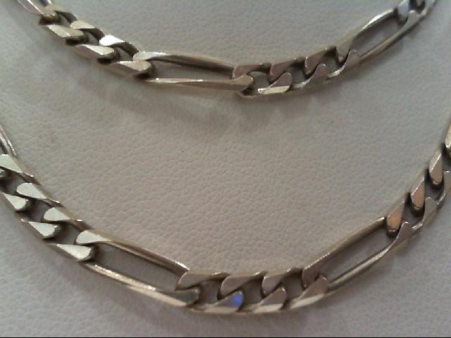 Silver Figaro Chain 925 Silver 15.6g