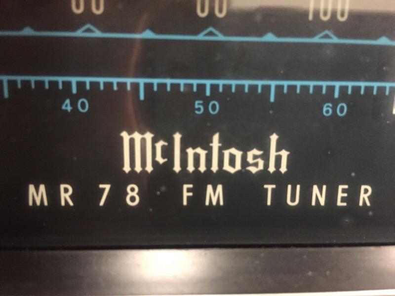 MCINTOSH Tuner MR78