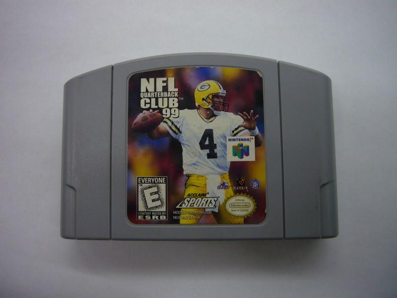 NINTENDO 64 Game NFL QUARTERBACK CLUB 99 *CARTRIDGE ONLY*